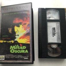 Cine: LA MITAD OSCURA STEPHEN KING GEORGE A ROMERO - VHS KREATEN. Lote 269715303