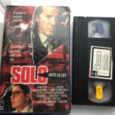 Cine: SOLO ANTE LA LEY CAJA GRANDE - VHS KREATEN. Lote 269715913