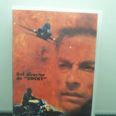 Cine: VAN DAMME'S INFERNO. VHS. JEAN-CLAUDE VAN DAMME, JOHN G AVILDSEN DE ROCKY Y KARATE KID (ENVÍO 2,50€). Lote 267297244