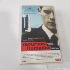 Cine: VHS 661 RECURSOS HUMANOS -VHS SEGUNDA MANO. Lote 269843668