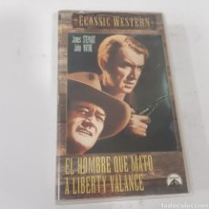 Cine: VHS 662 EL HOMBRE QUE MATÓ A LIBERTY VALANCE -VHS SEGUNDA MANO. Lote 269843728