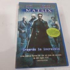 Cine: VHS 663 MATRIX -VHS SEGUNDA MANO. Lote 269843853