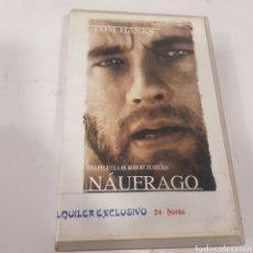 Cine: VHS 665 NÁUFRAGO -VHS SEGUNDA MANO. Lote 269843958