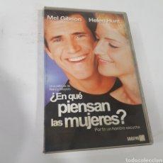 Cine: VHS 667 EN QUÉ PIENSAN LAS MUJERES -VHS SEGUNDA MANO. Lote 269844083