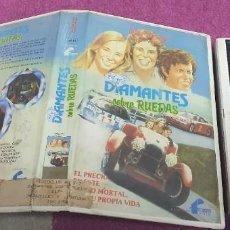 Cine: DIAMANTES SOBRE RUEDAS- WALT DISNEY FAMILIAR - 1 EDIC - VHS DIAMANTES SOBRE RUEDAS- WALT DISNEY. Lote 269981678
