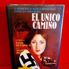 Cine: EL UNICO CAMINO (1970) - EBBE RODE, HELLE VIRKNER, JANE SEYMOUR, OVE SPROGØE, MARTIN POTTER. Lote 269981793