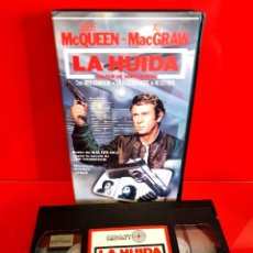 Cine: LA HUIDA (THE GETAWAY) (1972) - STEVE MCQUEEN, ALI MACGRAW, BEN JOHNSON - DIR. SAM PECKINPAH. Lote 269982158