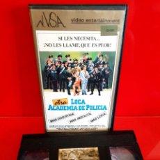 Cine: OTRA LOCA ACADEMIA DE POLICIA (1981) - RENZO MONTAGNANI, ANDY LUOTTO, MARIO MARENCO. Lote 269982478