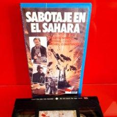 Cine: SABOTAJE EN EL SAHARA (1977). Lote 269982988
