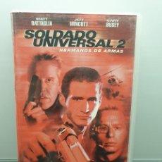 Cine: SOLDADO UNIVERSAL 2 (1998). VHS. MATT BATTAGLIA, GARY BUSEY, BURT REYNOLDS (ENVÍO 2,50€). Lote 269983848