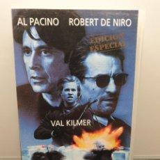 Cine: HEAT. VHS DE KIOSKO. AL PACINO, ROBERT DE NIRO, VAL KILMER, NATALIE PORTMAN, MICHAEL MANN. Lote 269984798