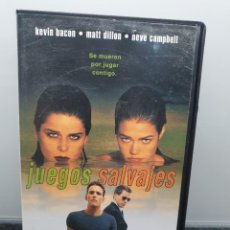 Cine: JUEGOS SALVAJES. VHS. MATT DILLON, KEVIN BACON, NEVE CAMPBELL, DENISE RICHARDS. Lote 269984858