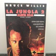 Cine: LA JUNGLA 2 ALERTA ROJA. VHS. BRUCE WILLIS, FRANCO NERO, DENNIS FRANZ, WILLIAM SADLER. Lote 269985008