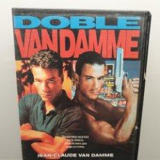 Cine: DOBLE IMPACTO. VHS. JEAN-CLAUDE VAN DAMME. Lote 269985063