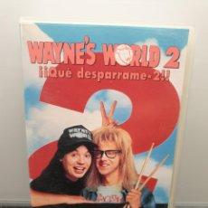 Cine: WAYNE'S WORLD ¡¡QUÉ DESPARRAME 2!!. VHS. MIKE MYERS, DANI CARVEY, CHRISTOPHER WALKEN (ENVÍO 2,50€). Lote 269985243
