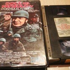 Cine: DOCE DEL PATÍBULO IV - CONTRA EL IV REICH - VHS. Lote 270374313
