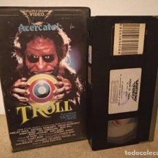 Cine: TOROK EL TROLL VHS - CLASICO OCHENTERO DIRIGIDO POR JOHN CARL BUECHLER. Lote 270374368