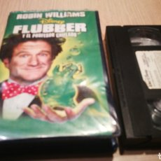 Cine: FLUBBER Y EL PROFESOR CHIFLADO - ROBIN WILLIAMS - VHS. Lote 270374688