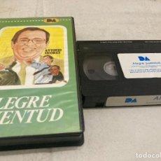 Cine: VHS ORIGINAL / ALEGRE JUVENTUD. Lote 270375588