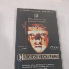 Cine: VHS 854 MEMORIAS DEL ÁNGEL CAÍDO - VHS SEGUNDA MANO. Lote 270579568