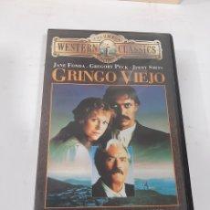 Cine: VHS 855 GRINGO VIEJO - VHS SEGUNDA MANO. Lote 270579668