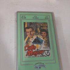 Cine: VHS 859 CALLE MAYOR- VHS SEGUNDA MANO. Lote 270580108