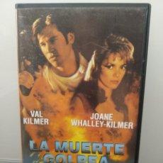 Cine: LA MUERTE GOLPEA DOS VECES. VHS. VAL KILMER, MICHAEL MADSEN (ENVÍO 2,50€). Lote 269252958