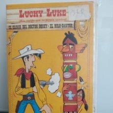 Cine: LUCKY LUKE: EL ELIXIR DEL DOCTOR DOXEY - EL HILO CANTOR. VHS. DE LA SERIE DE ANIMACIÓN (ENVÍO 2,50€). Lote 267416909