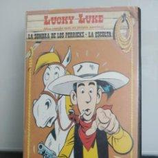 Cine: LUCKY LUKE: LA SOMBRA DE LOS PERRICKS - LA ESCOLTA. VHS. DE LA SERIE DE ANIMACIÓN (ENVÍO 2,50€). Lote 267417994