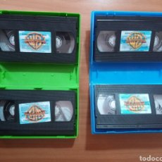 Cine: ESPECTACULAR PATO LUCAS WARNER BROS LOONEY TUNES CON 2 CINTAS VHS Y ESPECIAL SCOOBY DOO .. Lote 272433123