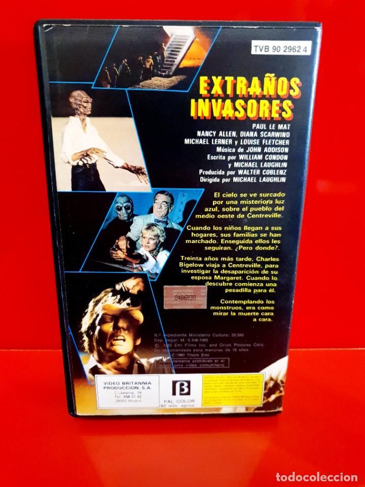 Cine: EXTRAÑOS INVASORES -(1983) (SOLO CARÁTULA Y ESTUCHE) - Foto 2 - 273222383