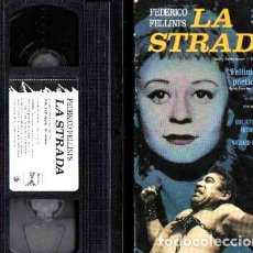 Cine: LA STRADA FEDERICO FELLINI ANTHONNY QUINN VHS IMPORTADO. Lote 273696648
