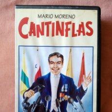 Cine: SU EXCELENCIA. MARIO MORENO CANTINFLAS RBA EDITORES AÑOS 90. VHS. Lote 274936668