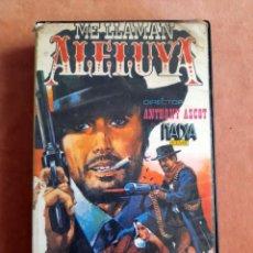 Cine: ME LLAMAN ALELUYA • GEORGE HILTON, AGATA FLORY • VHS. Lote 275625198