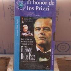 Cine: EL HONOR DE LOS PRIZZI, JOHN HUSTON; VHS PRECINTADO. Lote 275953093