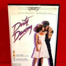 Cine: DIRTY DANCING (1987) - 1ª EDICION LIGHTING VIDEO. Lote 275971568
