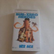 Cine: SUB ZERO HEROES ICE AGE. Lote 277305693