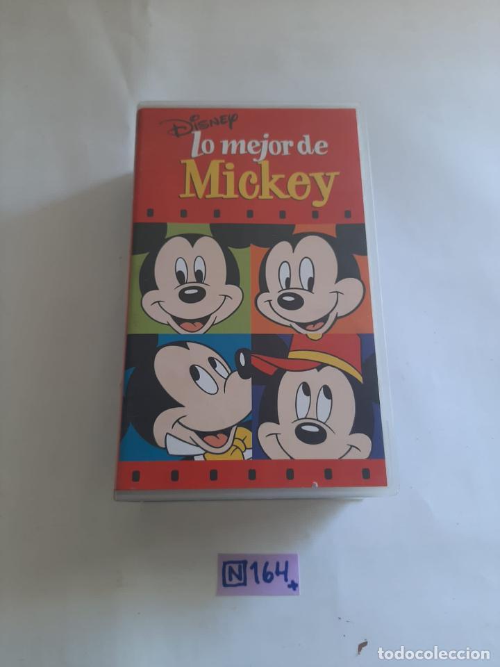 LO MEJOR DE MICKEY MOUSE (Cine - Películas - VHS)