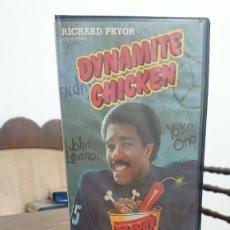 Cine: DYNAMITE CHICKEN - ERNEST PINTOFF - JOAN BAEZ, JOHN LENNON - HALCON VIDEO 1988. Lote 277760383