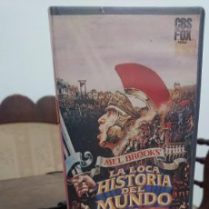 Cine: LA LOCA HISTORIA DEL MUNDO - MEL BROOKS - MEL BROOKS, DOM DELUISE - CBS FOX 1986. Lote 278954973