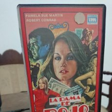 Cine: LA DAMA DE ROJO - LEWIS TEAGUE - PAMELA SUE MARTIN, ROBERT CONRAD - INTERMEDIA 1986. Lote 278955603