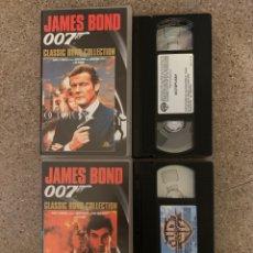 Cine: 007 ALTA TENSIÓN Y OCTOPUSSY VHS. Lote 278960333