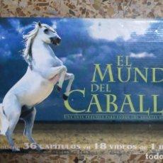 Cine: EL MUNDO DEL CABALLO COLECCIÓN COMPLETA 18 CINTAS VHS. Lote 278962043