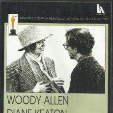 Cine: ANNIE HALL / WOODY ALLEN.. Lote 278966518