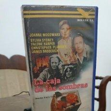 Cine: LA CAJA DE LAS SOMBRAS - PAUL NEWMAN - JOANNE WOODWARD, SYLVIA SYDNEY - ROLLER S.A. 1984. Lote 278966968