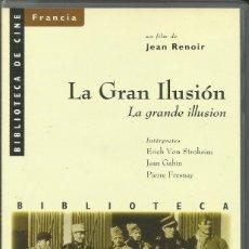 Cine: LA GRAN ILUSIÓN / JEAN RENOIR.. Lote 278967053