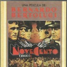 Cine: NOVECENTO I Y II / BERNARDO BERTOLUCCI.. Lote 278967458