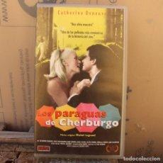 Cine: LOS PARAGUAS DE CHERBURGO, DE JACQUES DEMY; VHS. Lote 278969658