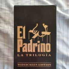 Cine: EL PADRINO * LA TRILOGÍA * VHS * WIDESCREEN EDITION. Lote 279556323