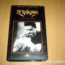 Cine: ALFRED HITCHCOCK VHS 39 ESCALONES LOS PAJAROS SUSPENSO. Lote 279767663